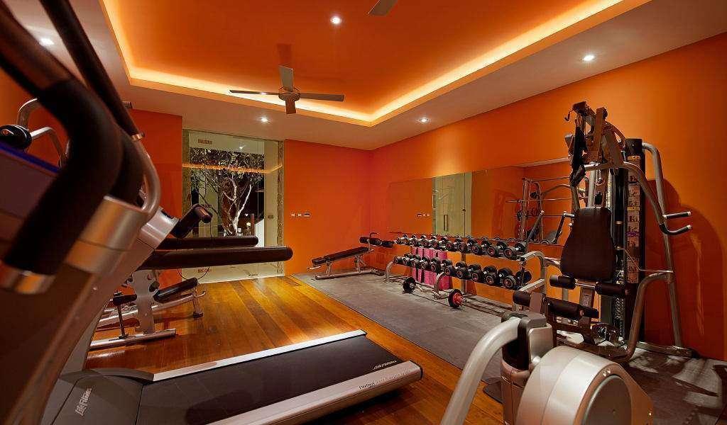 academia laranja - Cores para academia de musculação: guia completo para você não errar na escolha