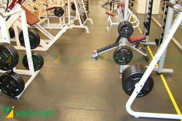 EBV-30 área de peso livre e crossfit