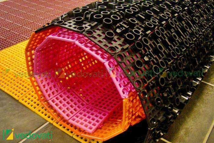 Estrado Plástico Vedovati para canil