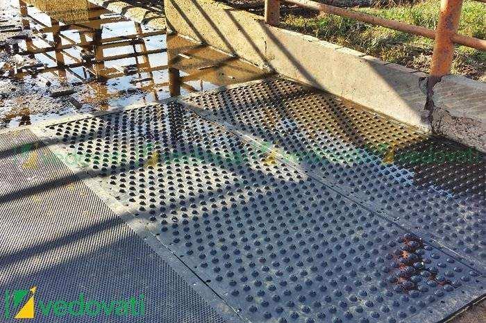 HD-15 EL piso de borracha para lavadores de animais