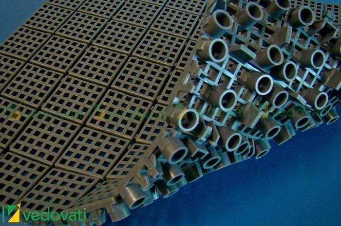 Estrado plástico de borracha é drenante e antiderrapante epv-17