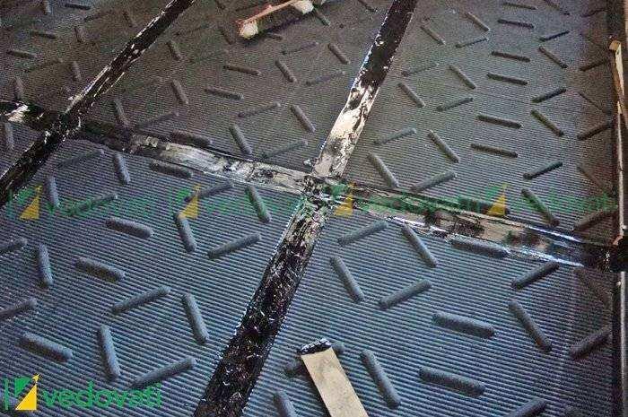 HD Equibov piso de borracha para sala de monta e inseminação