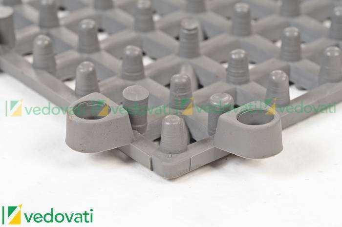 EPV 13 cinza detalhe encaixe 208 - Estrado plástico para segurança no trabalho EPV-13