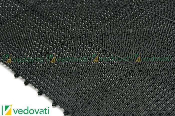 Vedovati Pisos EPV-13-cor-preto-montado