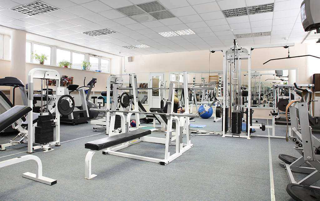 Melhor piso para academias