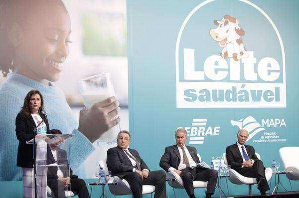 Programa Leite Saudável prevê investimento de R$ 387 milhões