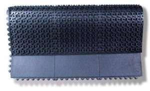Tapete de borracha ergonômico e antifadiga ERGO-16