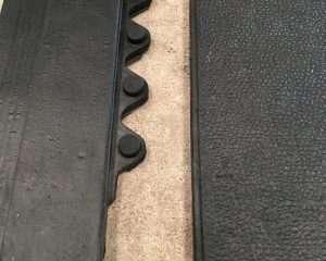 Detalhe rampa e encaixe do piso para cães
